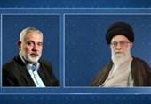 اسماعیل هنیه درگذشت سردار حجازی را به رهبر انقلاب تسلیت گفت
