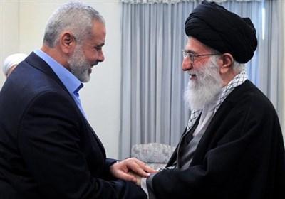 هنیّة یوجه رسالة إلى قائد الثورة الاسلامیة حول أحداث القدس المحتلة