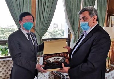 سفیر چین با شهردار تهران دیدار کرد