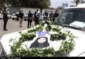 مراسم تشییع دومین شهید مدافع سلامت استان هرمزگان از دریچه دوربین تسنیم + تصاویر