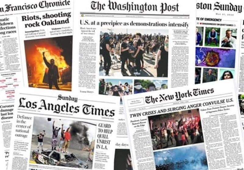 گزارش| آیا رسانههای آمریکا اعتراضات مردم به وضع موجود را می پسندند؟