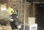حریق در بازار میدان نقش جهان اصفهان؛ کسبه آتشسوزی را مهار کردند