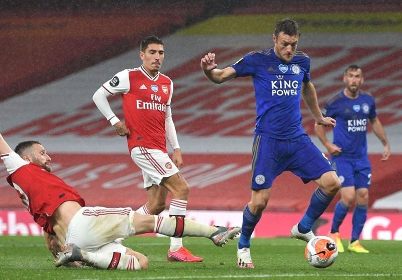 لیگ برتر انگلیس  آرسنال 10 نفره در خانه به لسترسیتی امتیاز داد/ چلسی با 3 امتیاز دیگر به رده سوم صعود کرد