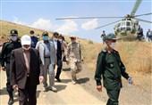 بازدید اعضای شورای تامین کردستان از نوار مرزی غرب کشور + تصاویر