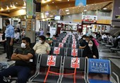 رعایت پروتکلهای بهداشتی در فرودگاه گرگان؛ اینجا همه ماسک میزنند+ تصاویر