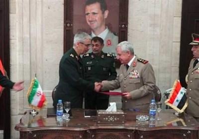 إیران وسوریة توقعان على اتفاقیة لتعزیز التعاون العسکری والأمنی بینهما