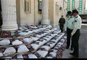 بیش از 1.5 تن انواع مواد مخدر در عملیات شب گذشته پلیس استان کرمان کشف شد