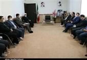 رئیس کل مالیاتی کشور با امام جمعه کرمان دیدار کرد+ تصاویر