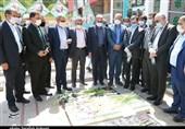 رئیس سازمان امور مالیاتی کشور به مقام شامخ شهید سلیمانی ادای احترام کرد + تصاویر