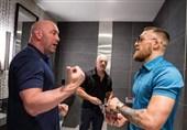 پیشنهاد رئیس UFC برای بازگشت مکگرگور به میدان در سال 2021