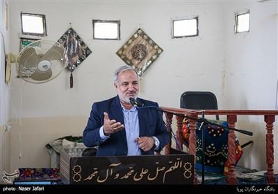 سخنرانی احمد علی موهبتی استاندار استان در سفر رئیس بنیاد مستضعفان به استان سیستان و بلوچستان