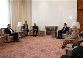 Iran's Top General, Syrian President Discuss Military Deal in Damascus