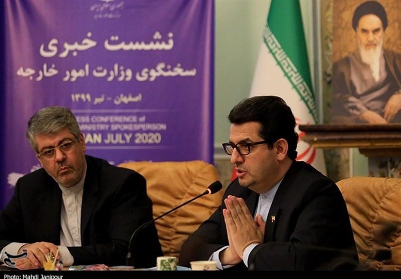 نشست خبری سخنگوی وزارت امور خارجه در اصفهان به روایت تصاویر