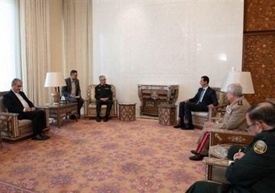 بشار اسد: توافق نظامی سوریه و ایران بیانگر سطح روابط دو جانبه است,