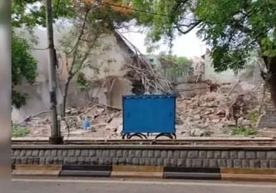 حیدرآباد دکن میں دو مساجد کو شہید اور ایک مندر کو گرا دیا گیا +تصاویر