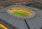 برگزاری دیدار آزمایشی در ورزشگاه تازه تأسیس جام جهانی با حضور سانچس + عکس