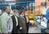 بازدید امام جمعه دامغان از مجموعه تولیدی صنعتی فنرلول ایران به روایت تصاویر