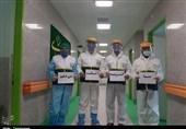 55000 نوبت رفع آلودگی در استان کرمانشاه توسط بسیج جامعه پزشکی + تصاویر