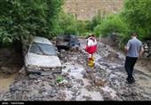 حجم بالای خسارات سیل در گیلان؛ یک نفر جان خود را از دست داد