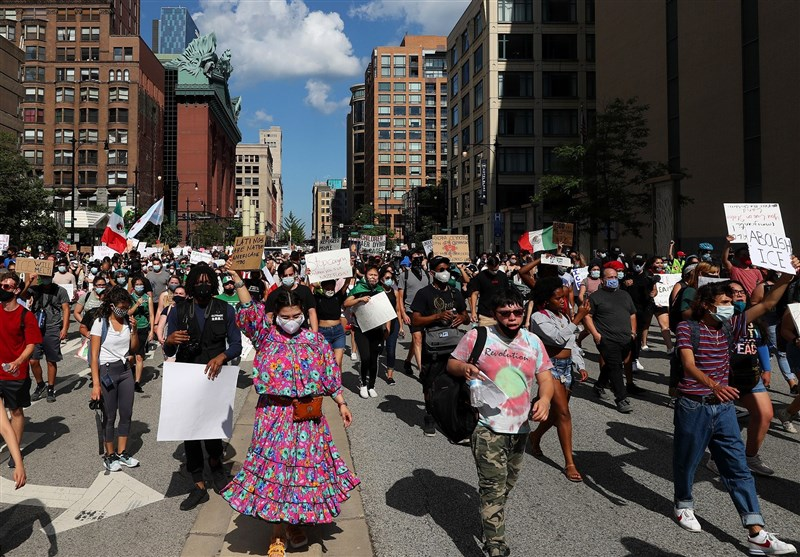US Protesters Decry New Immigration Rule in Chicago (+Video)