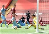 لیگ برتر انگلیس| پایان بردهای خانگی لیورپول با تساوی مقابل برنلی