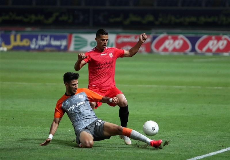 لیگ برتر فوتبال  پیروزی یک نیمهای شهر خودرو مقابل سایپا