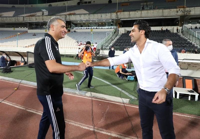 ساکت الهامی در باشگاه استقلال حاضر شد