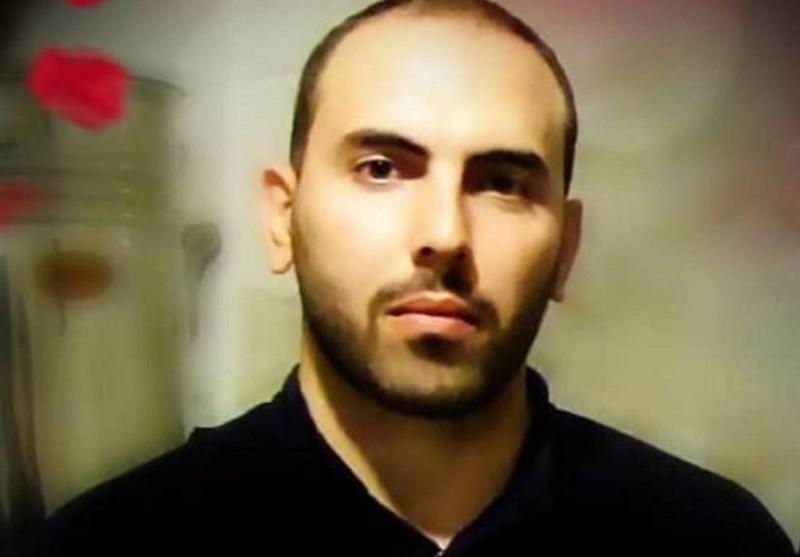 پیکر مطهر شهید ابراهیم اسمی در معراج شهدا+فیلم