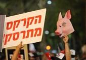 رژیم صهیونیستی غرق در بحرانهای چندوجهی؛ تظاهرات علیه نتانیاهو ابعاد جدید به خود گرفت