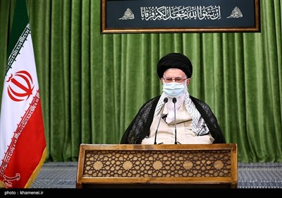 ارتباط تصویری رهبر انقلاب با نمایندگان یازدهمین دوره مجلس شورای اسلامی