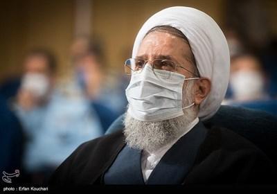 حجت الاسلام محمدحسنی رییس سازمان عقیدتی سیاسی ارتش در آیین نکوداشت چهل سال فعالیت قرآنی آجا