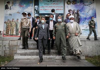 پرویز فتاح رئیس بنیاد مستضعفان در جشنواره مالک اشتر هوانیروز ارتش نزاجا