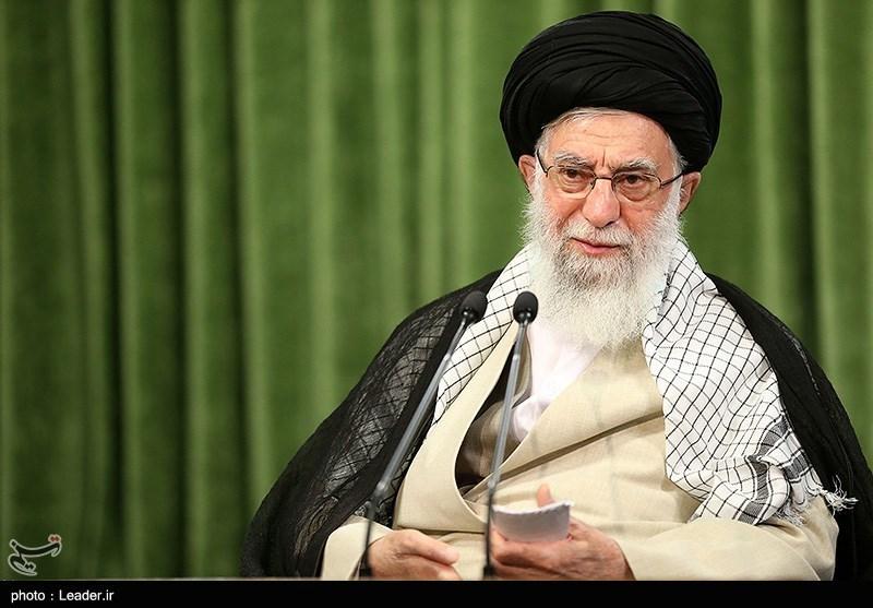 سخنرانی امام خامنهای بمناسبت هفته دفاع مقدس آغاز شد