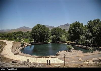 ایران کے صوبہ کرمانشاہ میں ایک تاریخی مقام کے خوبصورت مناظر