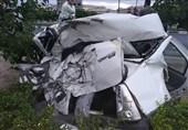 متلاشی شدن L90 و پرتاب مرگبار راننده به بیرون از خودرو + تصاویر