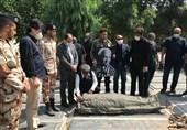پیکر حسن شریفی تا خانه ابدی بدرقه شد
