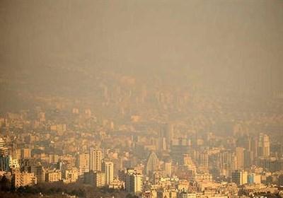 """هوای ۸ شهر ناسالم شد/قرارگیری هوای تهران در شرایط """"قابلقبول"""""""