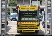 رونمایی از 40 دستگاه جمعآوری زبالههای بیمارستانی در تهران + تصاویر