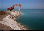 ساخت شهرکهای شیلاتی «رود شور و شیف» استان بوشهر به روایت تصویر
