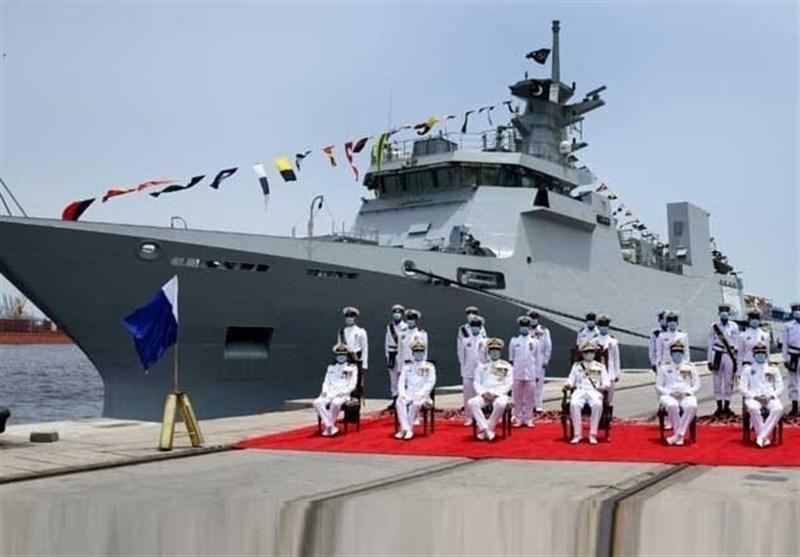 پاکستان؛ جدید ترین جنگی جہاز ''یرموک'' بحری بیڑے میں شامل