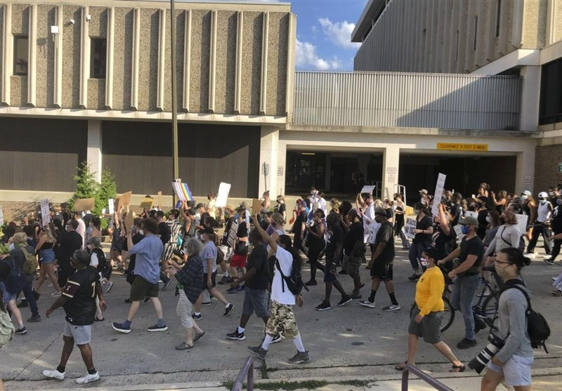 Huge Protest in Allentown After Cop Kneels on Man's Neck (+Video)
