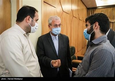 گفتوگوی علی ربیعی سخنگوی دولت با خبرنگاران در پایان نشست خبری