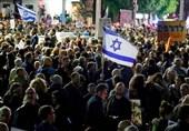 آلاف الإسرائیلیین یتظاهرون أمام منزل نتنیاهو للمطالبة باستقالته