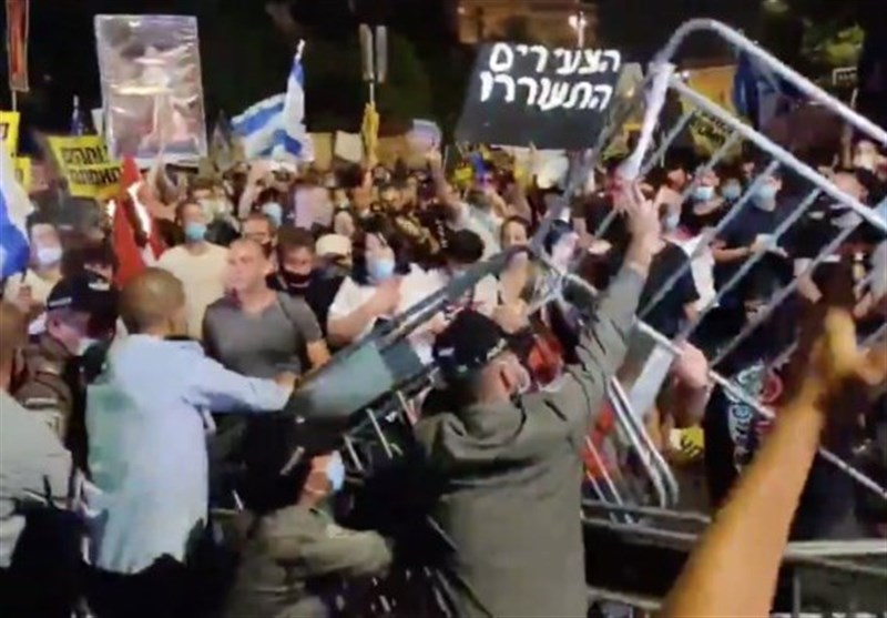 50 Arrested As Anti-Netanyahu Protests Continue (+Video)