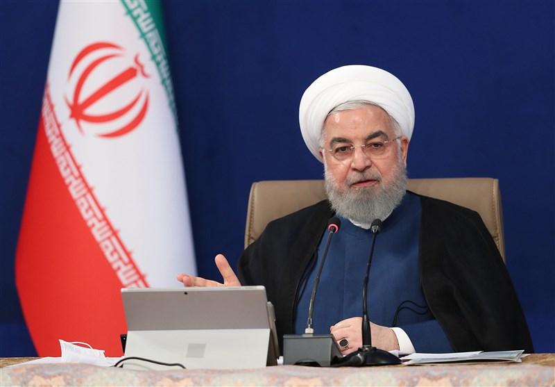 روحانی: سیاست دولت حمایت از صادرات برای تقویت تولید داخلی است