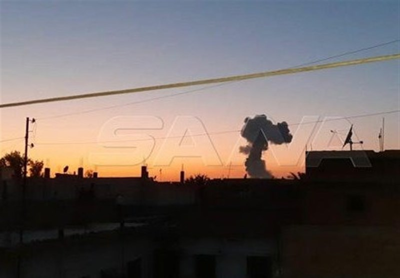 انفجار «انبار مهمات» نزدیک مقر شبه نظامیان تحت حمایت آمریکا در غرب «الحسکه»