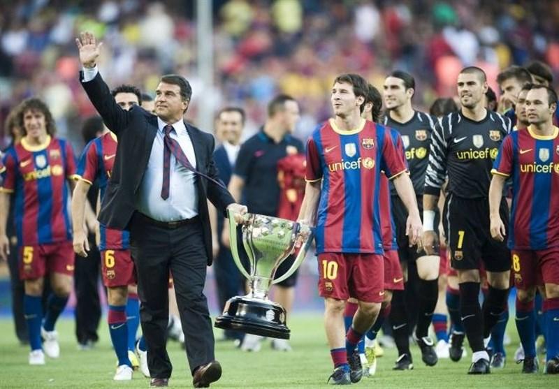 لاپورتا: میترسم مسی به خاطر مدیران فعلی از بارسلونا برود/ جای ژاوی باشم تا هئیت مدیره عوض نشود، برنمیگردم