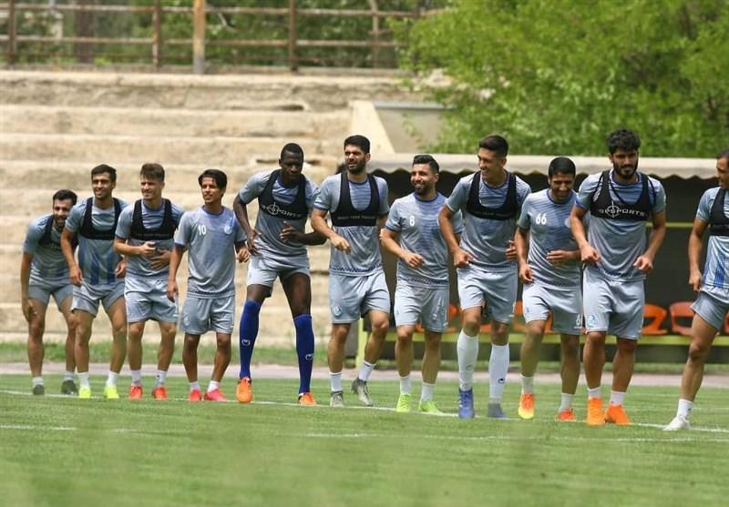 گزارش تمرین استقلال  بازگشت مصدومان و صحبتهای مجیدی با بازیکنان
