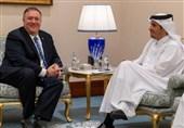 گفتگوی تلفنی پامپئو و معاون نخستوزیر قطر