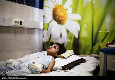 بخش کودکان مشکوک به کرونا در بیمارستان طالقانی گرگان